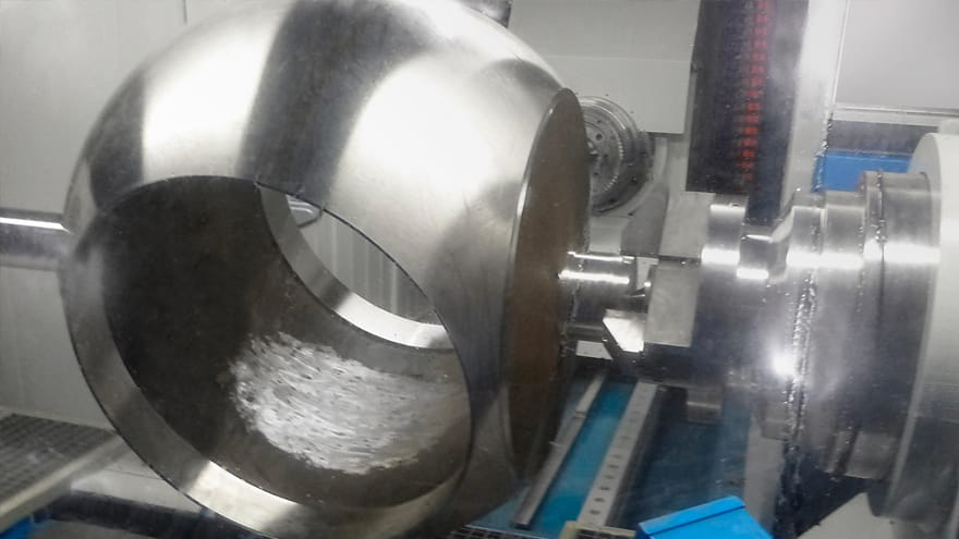 ball valve ball