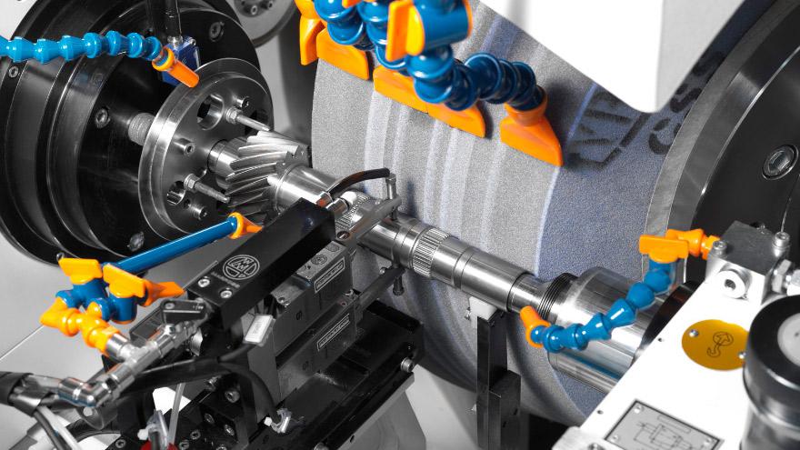 Gearbox shafts - External Grinding Machine