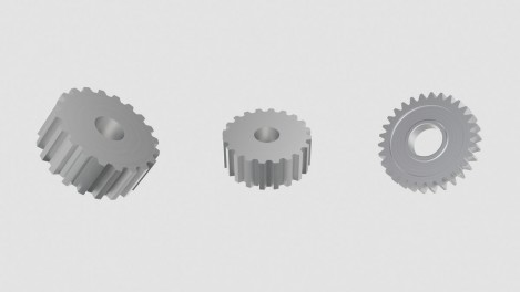 Small and medium gears