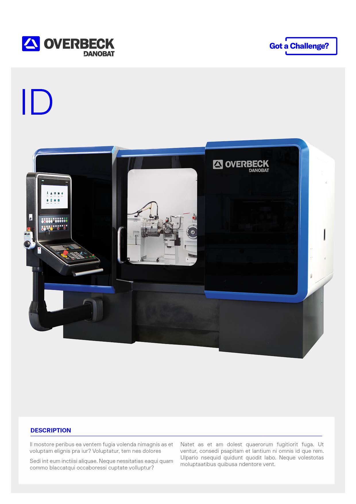 ID internal cylindrical grinding machine | DANOBAT